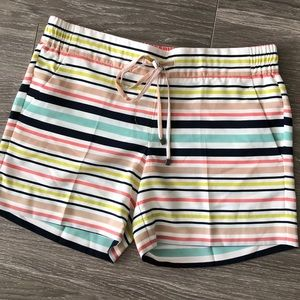 The Limited Striped 5 Easy Shorts SZ. S